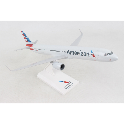 American Airlines A321Neo Plastic Model - Scale 1:150