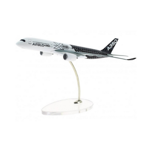 Airbus A350 XWB Carbon Livery Diecast Model - Scale 1:400
