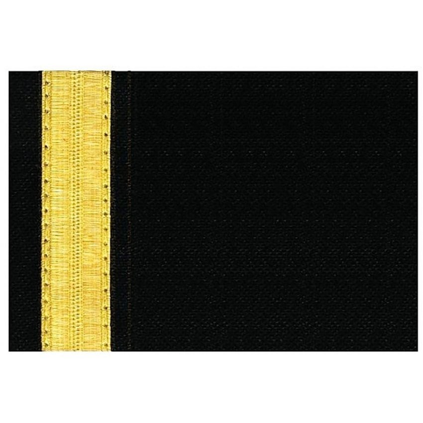 1 Bar Gold Epaulettes - Full Length Board (Pair)