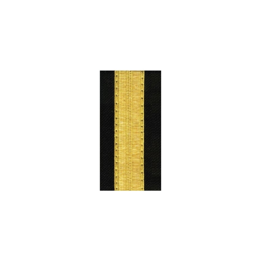 1 Bar Gold Epaulettes - Standard Board