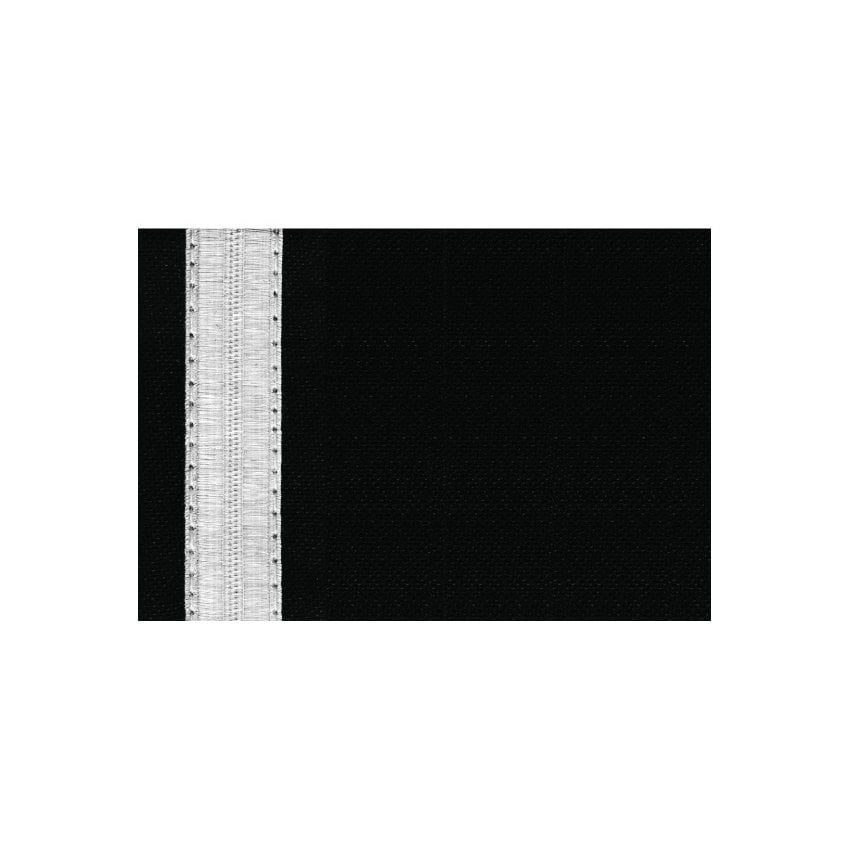 1 Bar Silver Epaulettes - Full Length Board
