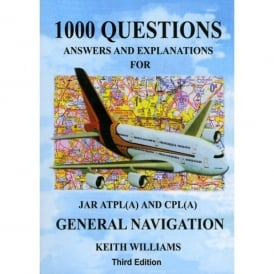 Williams Publishing 1000 General Navigation Q&A for JAR ATPL & CPL