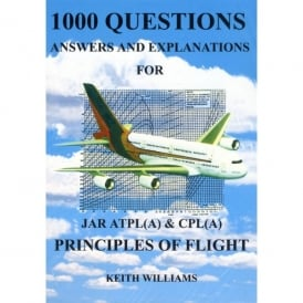 Williams Publishing 1000 Principles Of Flight Q&A for JAR ATPL & CPL