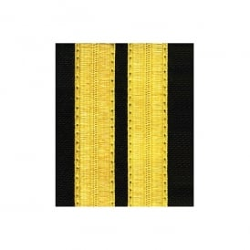 V:ONE 2 Bar Gold Epaulettes - Standard Board