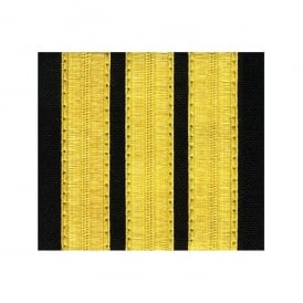 V:ONE 3 Bar Gold Epaulettes - Standard Board
