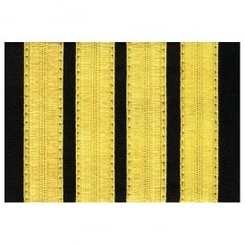V:ONE 4 Bar Gold Epaulettes