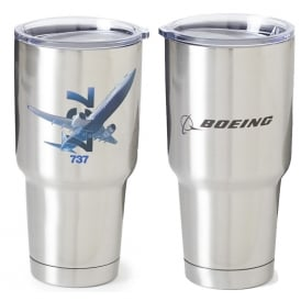 737 X-Ray Graphic Tumbler