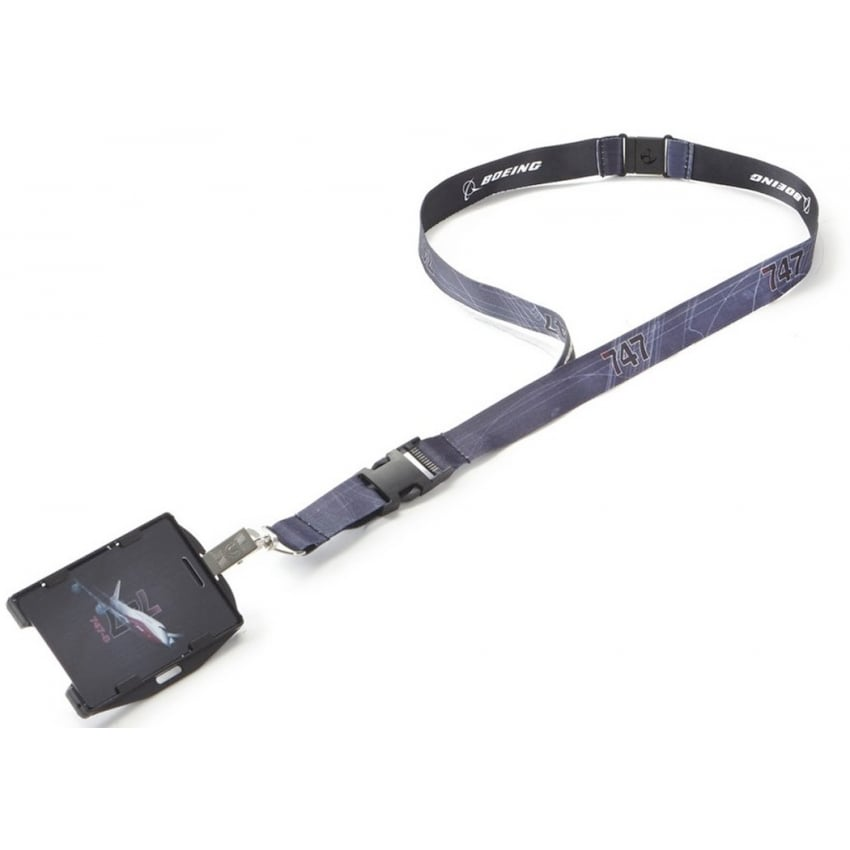 747-8 X-Ray Graphic Lanyard