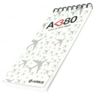 A380 Love at First Flight Notepad