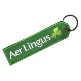 Aer Lingus Embroidered Keyring