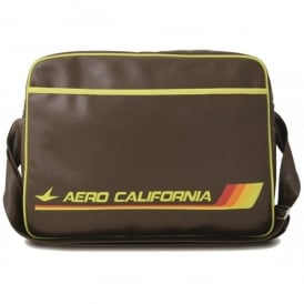 Aero California Airline Sports Bag In Brown
