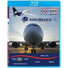 Just Planes AeroMexico Boeing 737 Blu-Ray