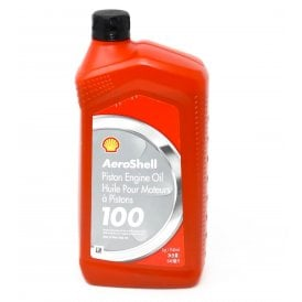 Shell Aviation Aeroshell 100 Aircraft Engine Oil