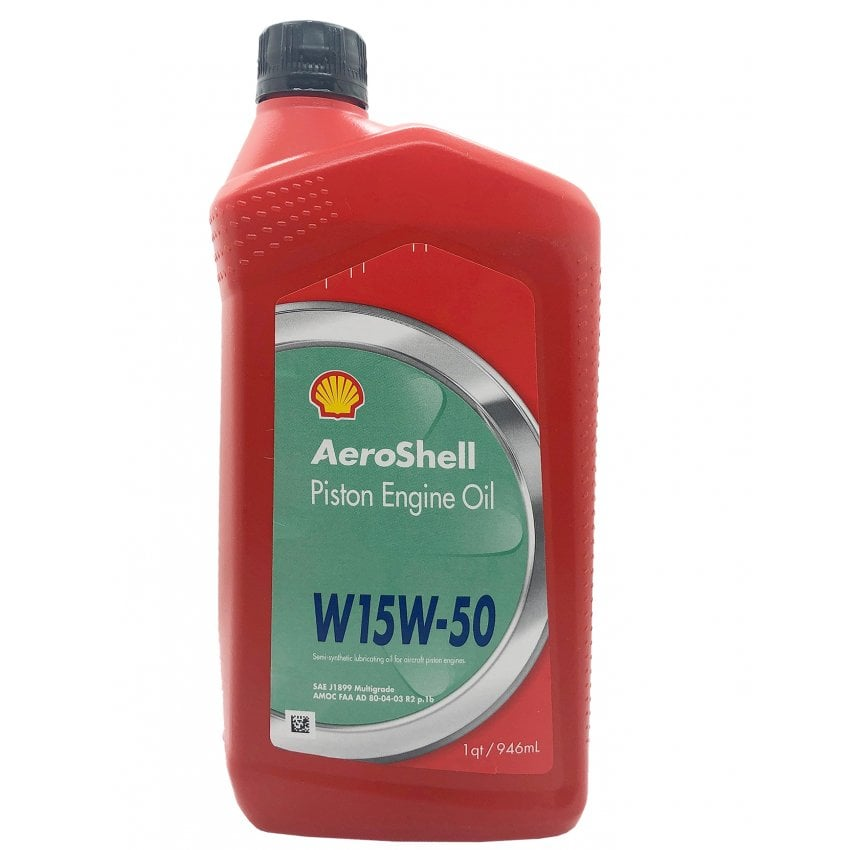 Aeroshell 15W-50 Aircraft Engine Oil