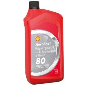 Shell Aviation Aeroshell 80 Aircraft Engine Oil