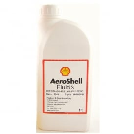 Aeroshell Fluid 3 1 litre Bottle