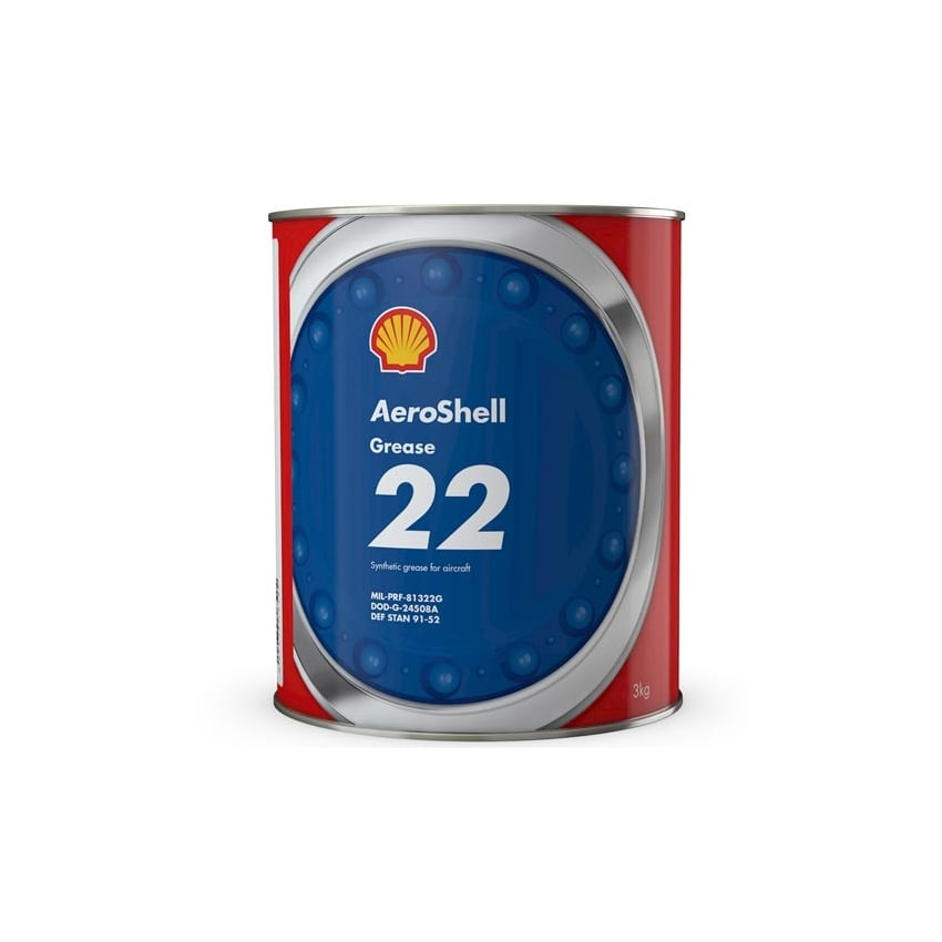 Aeroshell Grease 22 3Kg Can