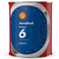 Aeroshell Grease 6 3Kg Can