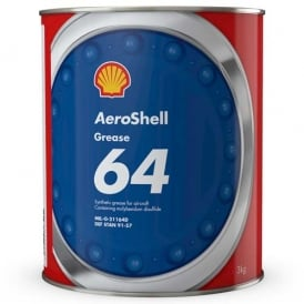 Aeroshell Grease 64 (Previously 33MS) 3Kg Can