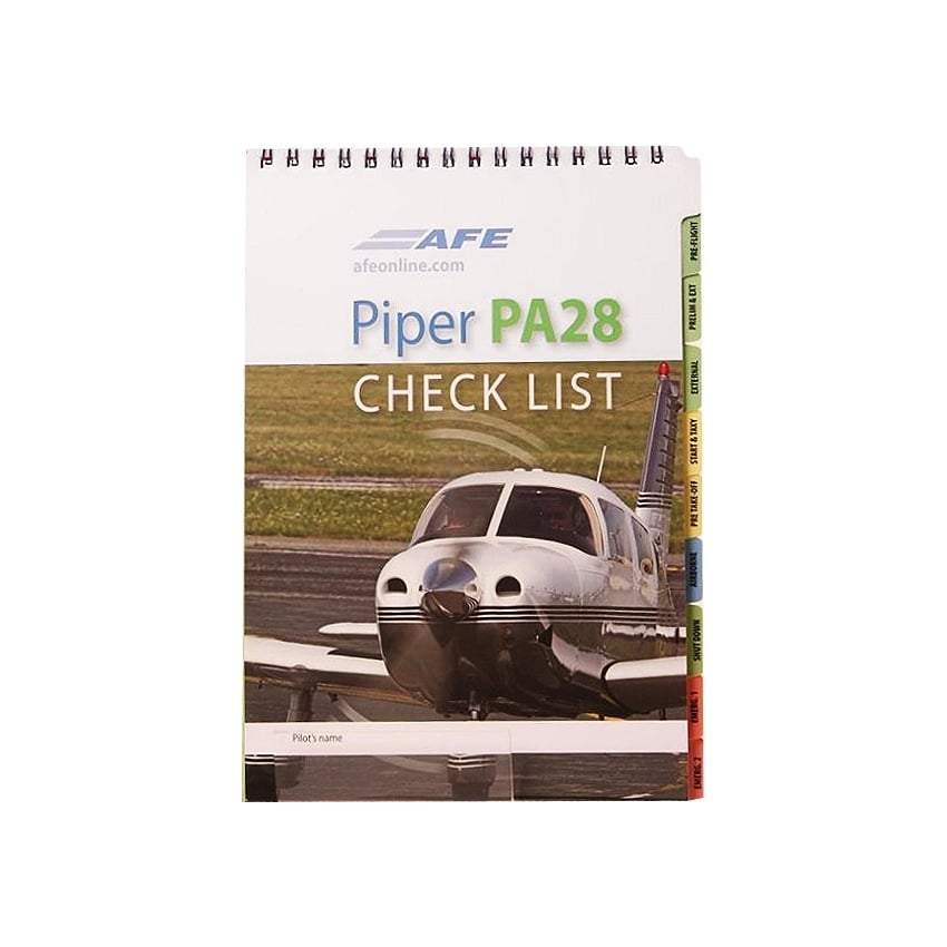 Aircraft Checklist Piper PA 28