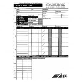 AFE VFR Log pad