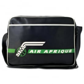 Air Afrique Airline Sports Bag In Black
