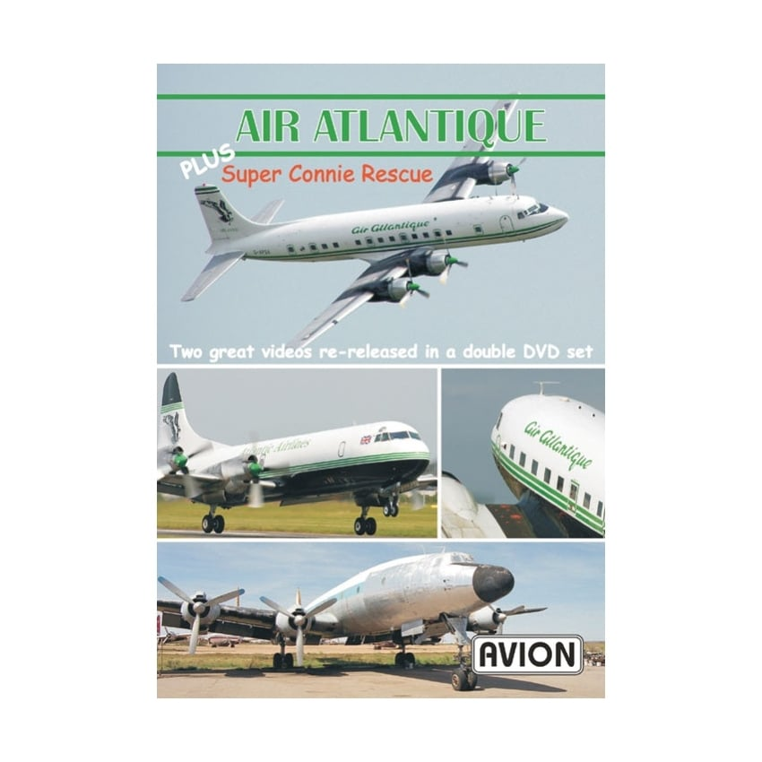 Air Atlantique Plus Super Connie Rescue DVD
