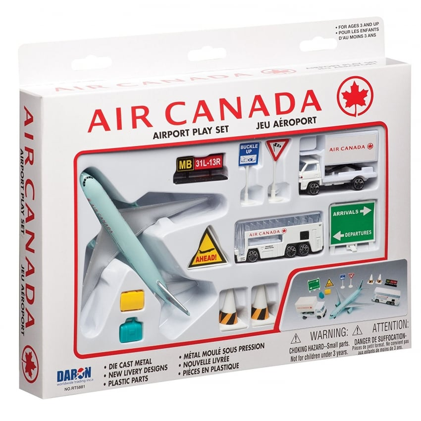 Air Canada Airport 12 Piece Play Set