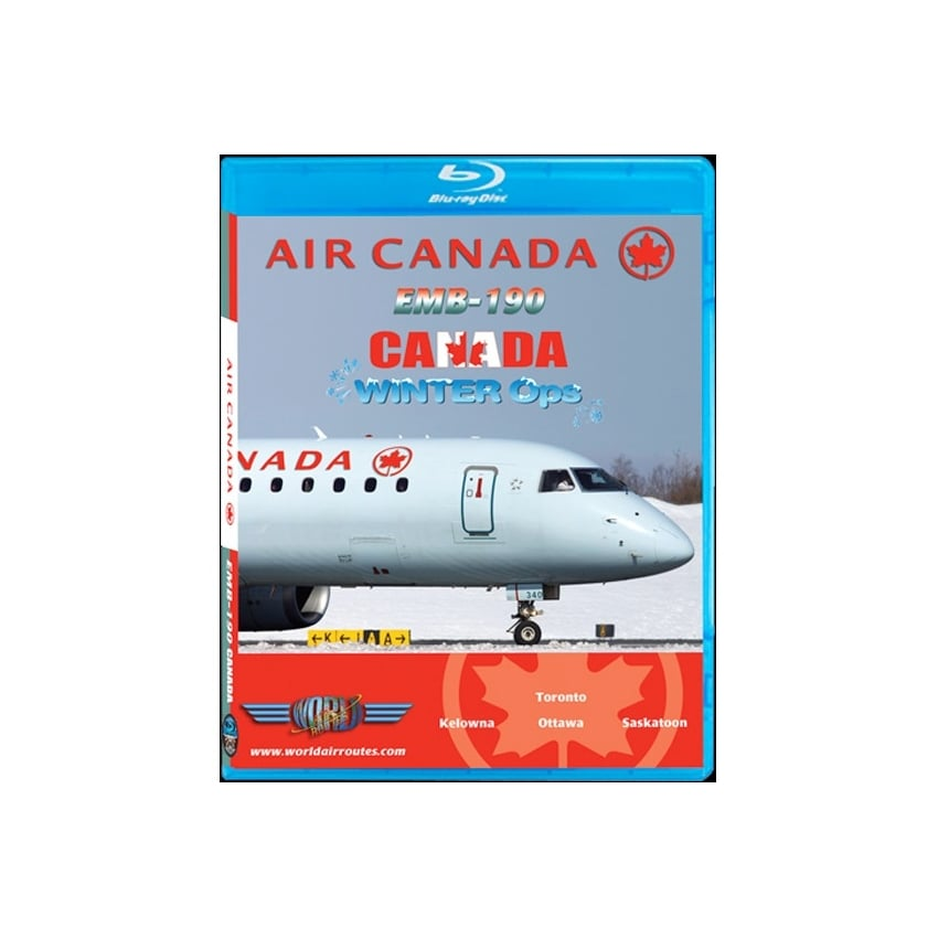 Air Canada EMB-190 Winter Operations Blu-Ray