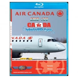 Just Planes Air Canada EMB-190 Winter Operations Blu-Ray