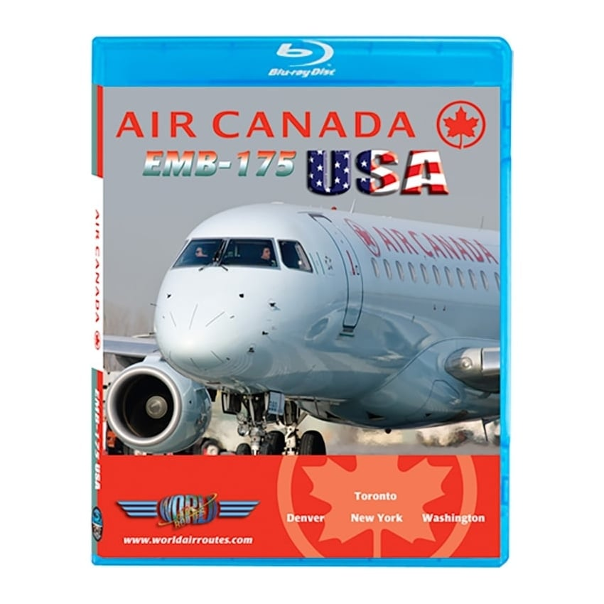 Air Canada Embraer E-175 USA Blu-Ray