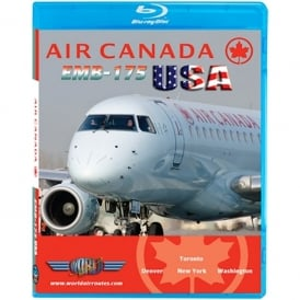 Just Planes Air Canada Embraer E-175 USA Blu-Ray