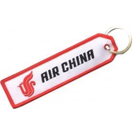 Air China Embroidered Keyring