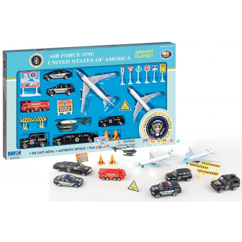 Air Force One 22 Piece Model Play Set