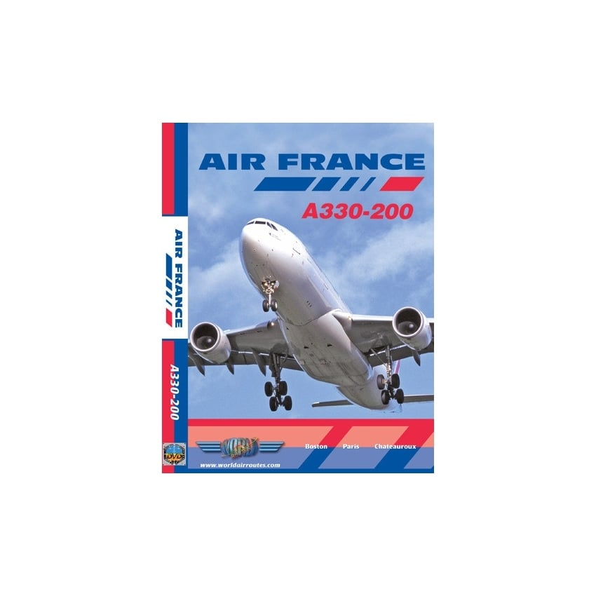 just planes air france a330 200 dvd. Black Bedroom Furniture Sets. Home Design Ideas