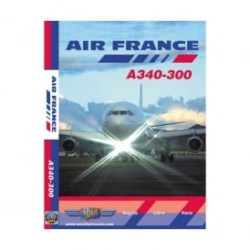 Just Planes Air France A340-300 DVD