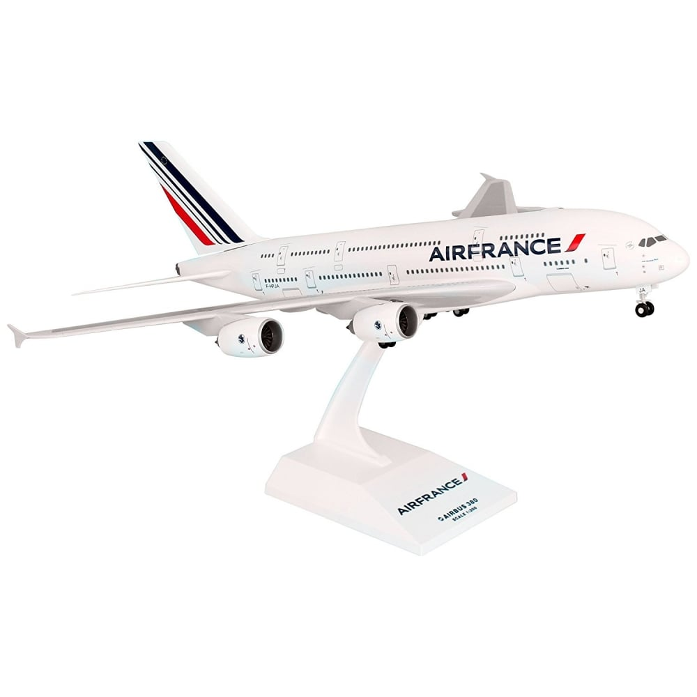 skymarks air france airbus a380 plastic model skr617. Black Bedroom Furniture Sets. Home Design Ideas