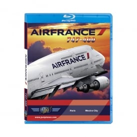 Just Planes Air France B747-400 Blu-Ray