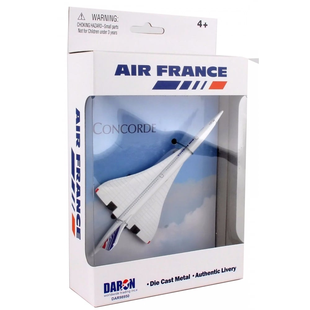 air france concorde diecast toy. Black Bedroom Furniture Sets. Home Design Ideas