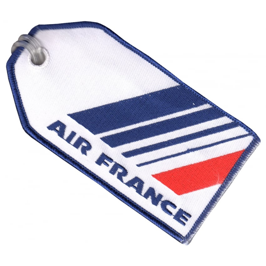 Air France Embroidered Baggage Tag