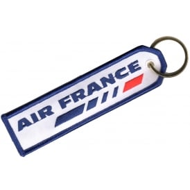 Air France Embroidered Keyring
