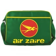 Air Zaire Airline Sports Bag In Green