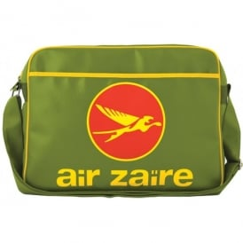 LogoBags Air Zaire Airline Sports Bag In Light Olive