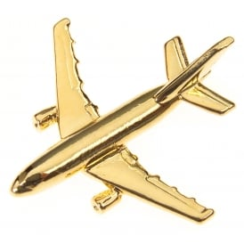 Airbus A310 Boxed Pin - Gold