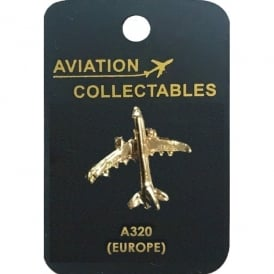 Airbus A320 Gold Pin Badge
