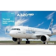 Airbus A320neo Poster