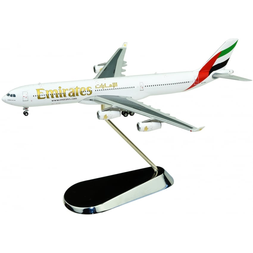 Emirates Airbus A340-300 Diecast Model - Scale 1:400
