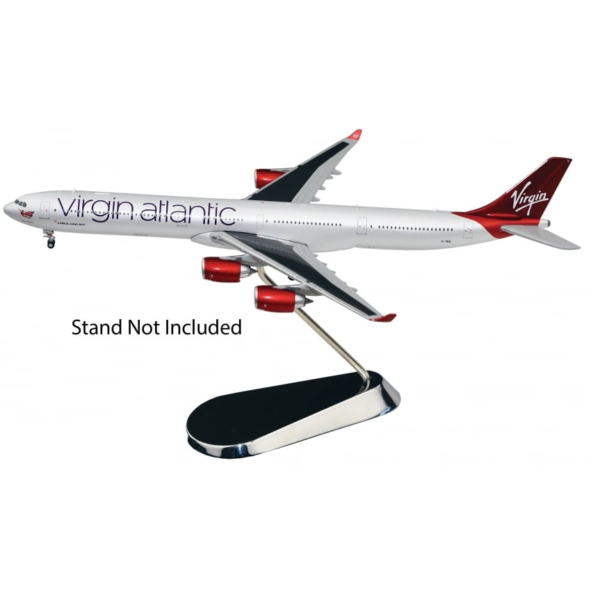 Airbus A340-600 Virgin Atlantic Diecast Model - Scale 1:400