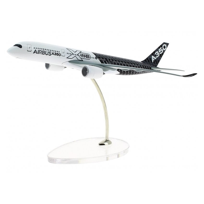 A350 XWB Carbon Livery Diecast Model - Scale 1:400