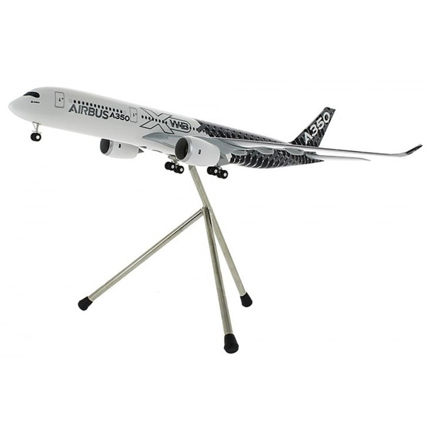 A350 XWB Carbon Livery Snap Model - Scale 1:200